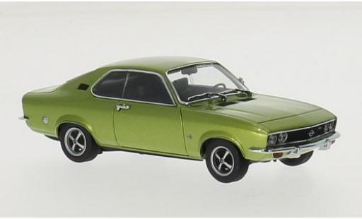 Opel Manta 1/43 Maxichamps A metallise verte 1970 miniature