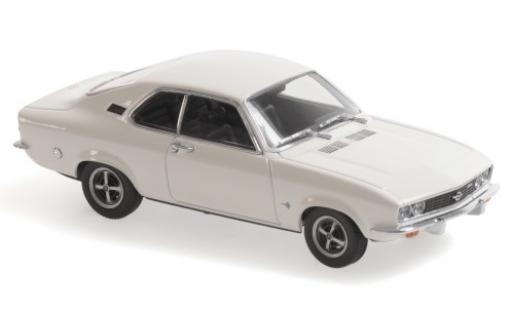 Opel Manta 1/43 Maxichamps A blanche 1970 miniature