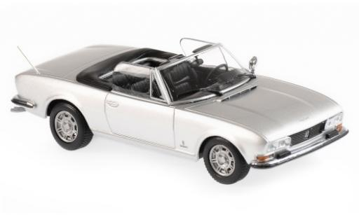 Peugeot 504 1/43 Maxichamps Cabriolet grey 1977 diecast model cars