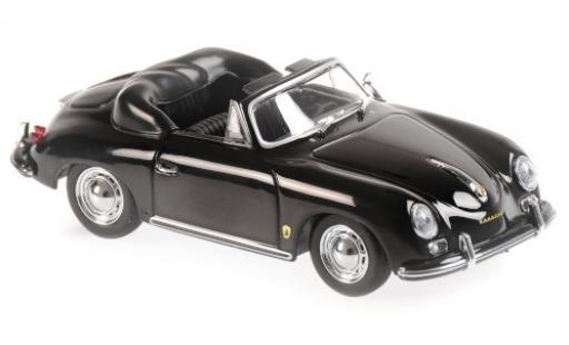 Porsche 356 1/43 Maxichamps A Cabriolet black 1956 diecast model cars