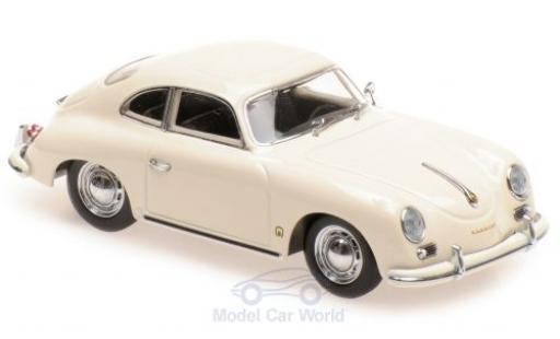 Porsche 356 1/43 Maxichamps A Coupe beige 1959 diecast model cars