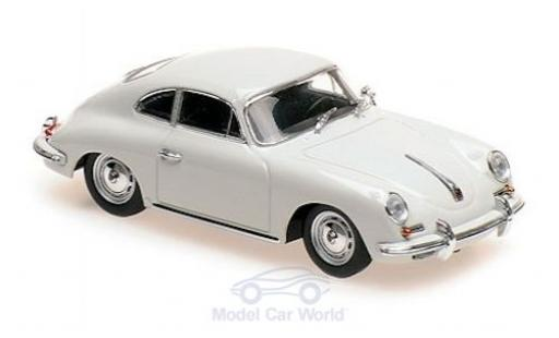 Porsche 356 1/43 Maxichamps B Coupe grey 1961 diecast model cars