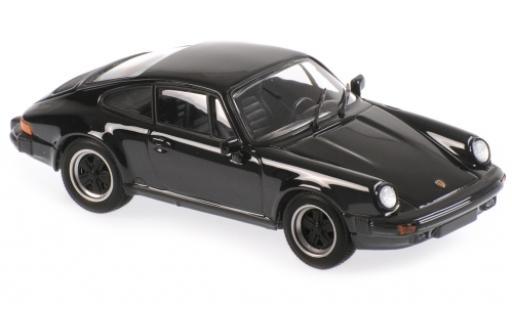 Porsche 930 1/43 Maxichamps 911 SC black 1979 diecast model cars