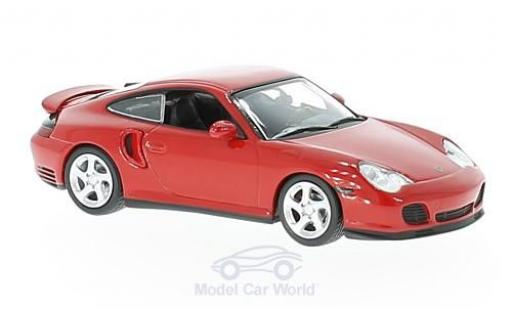 Porsche 996 Turbo 1/43 Maxichamps Turbo (996) rouge 1999 miniature