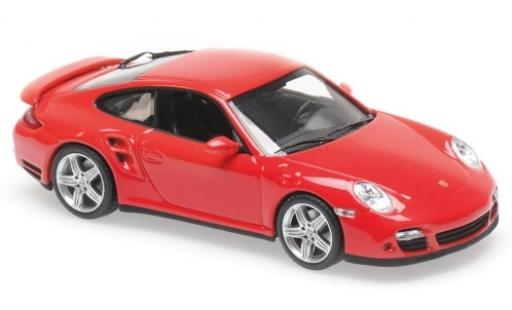 Porsche 997 Turbo 1/43 Maxichamps 911  red 2006 diecast model cars