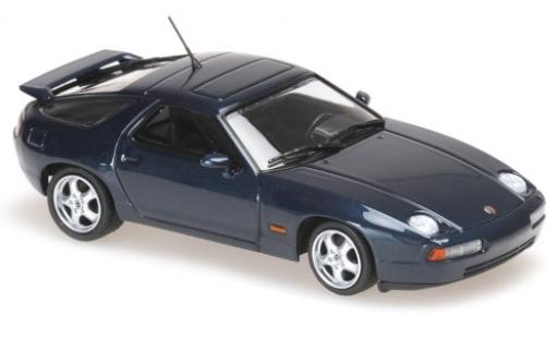 Porsche 928 1/43 Maxichamps GTS metallise green 1991 diecast model cars