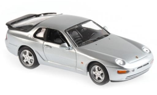 Porsche 993 1/43 Maxichamps 968 CS grey 1 diecast model cars
