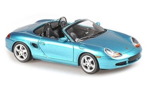 Porsche Boxster 1/43 Maxichamps S metallise turquoise 1999 miniature