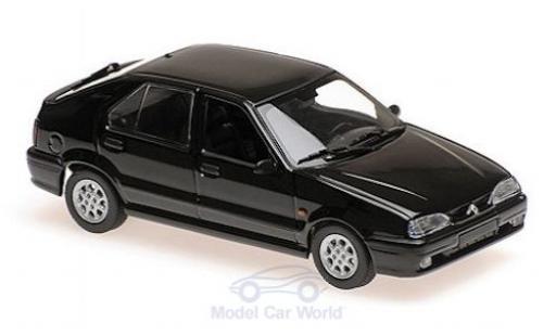 Renault 19 1/43 Maxichamps negro 95 miniatura