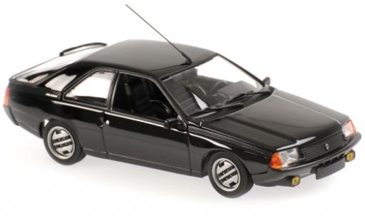 Renault Fuego 1/43 Maxichamps black 1984 diecast model cars