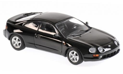 Toyota Celica 1/43 Maxichamps black 1994 diecast model cars
