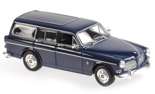 Volvo 121 1/43 Maxichamps Amazon Break bleue 1966 miniature