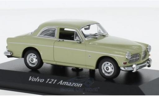 Volvo 121 1/43 Maxichamps Amazon verte 1966 miniature