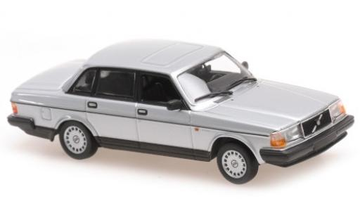 Volvo 240 1/43 Maxichamps GL grise 1986 miniature