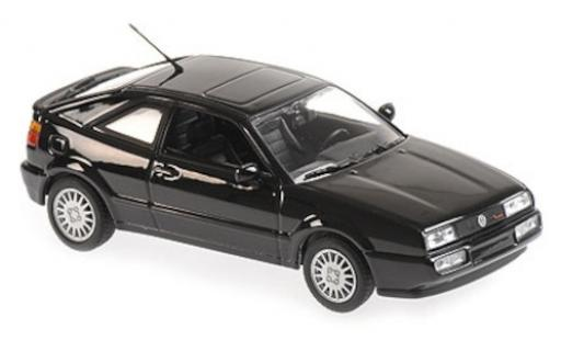 Volkswagen Corrado 1/43 Maxichamps G60 noire 1990 miniature