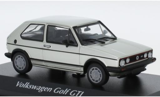 Volkswagen Golf 1/43 Maxichamps I GTI gris 1983 coche miniatura