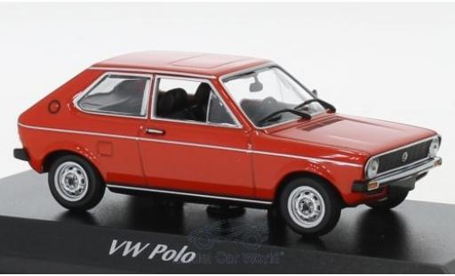 Volkswagen Polo 1/43 Maxichamps red 1979 diecast