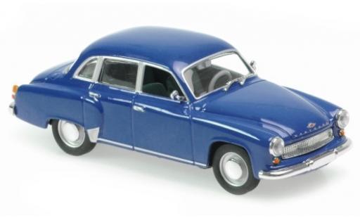 Wartburg 311 1/43 Maxichamps bleue 1959 miniature