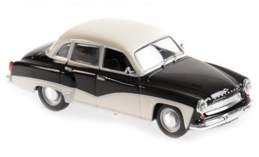 Wartburg 311 1/43 Maxichamps noire/blanche 1959 miniature