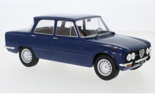 Alfa Romeo Giulia 1/18 MCG Nuova Super blue 1974 diecast model cars