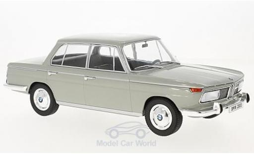 Bmw 2000 A 1/18 MCG grey 1966 diecast model cars