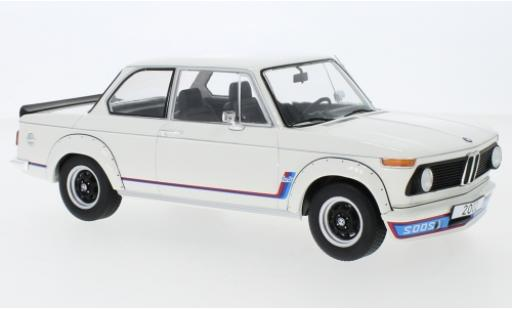 Bmw 2002 1/18 MCG Turbo white 1973 diecast model cars