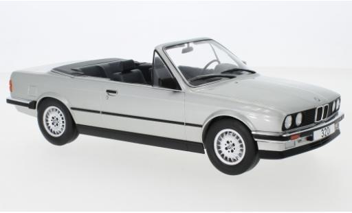 Bmw 320 1/18 MCG i (E30) Cabriolet grise 1985 miniature