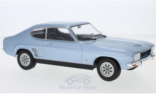 Ford Capri 1/18 MCG MKI 1600 XL métallisé bleue 1973 miniature