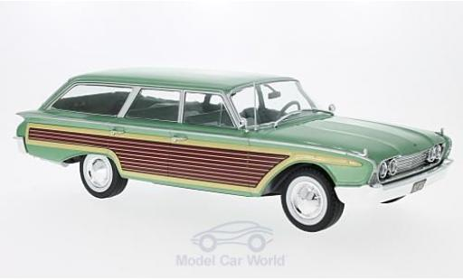Ford Country Squire 1/18 MCG metallise green/Holzoptik 1960 diecast model cars