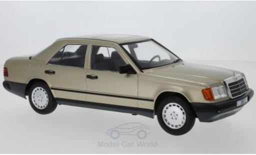 Mercedes 260 1/18 MCG E (W124) metallise marron 1984 miniature