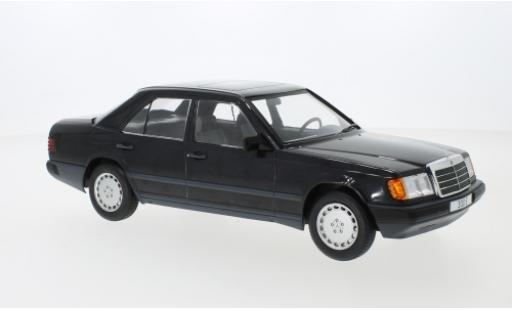 Mercedes 300 1/18 MCG E (W124) metalico negro 1984 miniatura