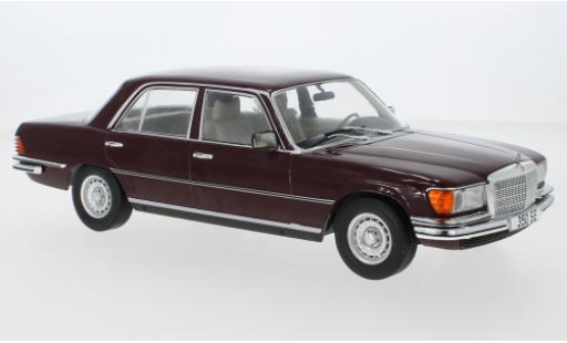 Mercedes 350 1/18 MCG SE (W116) rouge 1972 miniature