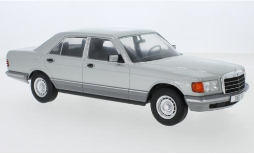 Mercedes Classe S 1/18 MCG (W126) grise 1979 miniature
