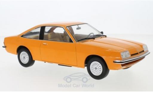 Opel Manta 1/18 MCG B orange 1975 miniature