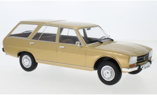 Peugeot 504 1/18 MCG Break gold 1976 coche miniatura