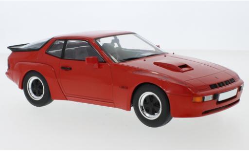 Porsche 924 1/18 MCG Carrera GT rouge 1981 miniature