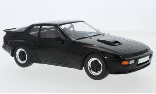 Porsche 924 1/18 MCG Carrera GT noire 1981 miniature
