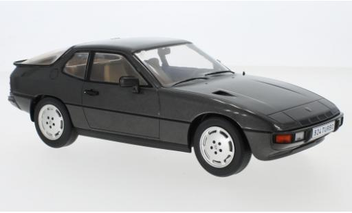 Porsche 924 1/18 MCG Turbo metallise grise 1979 miniature