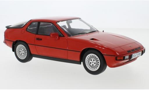Porsche 924 1/18 MCG Turbo rouge 1979 miniature