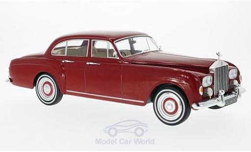 Rolls Royce Silver Cloud 1/18 MCG III Flying Spur H.J.Mulliner rouge RHD 1965 miniature