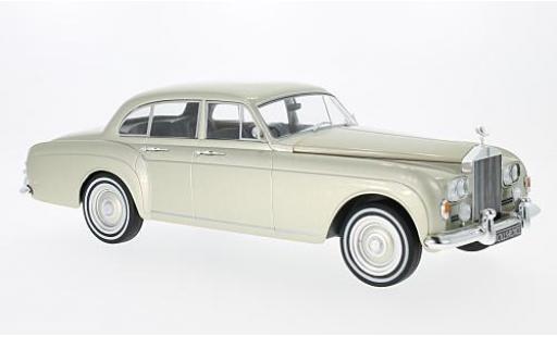 Rolls Royce Silver Cloud 1/18 MCG III Flying Spur H.J.Mulliner metallise beige RHD 1965 miniature