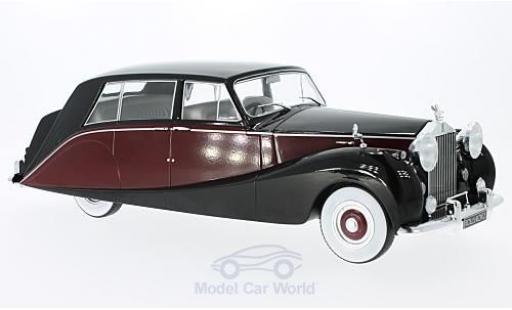 Rolls Royce Silver Wraith 1/18 MCG Empress by Hooper noire/rouge RHD 1956 miniature