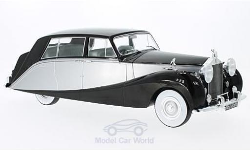 Rolls Royce Silver Wraith 1/18 MCG Empress by Hooper noire/grise RHD 1956 miniature