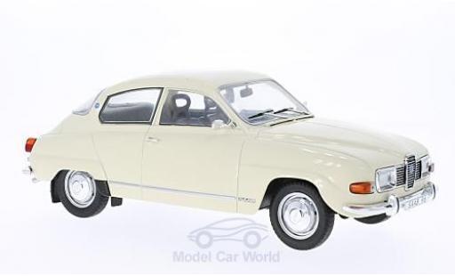 Saab 96 1/18 MCG V4 beige 1971 miniature