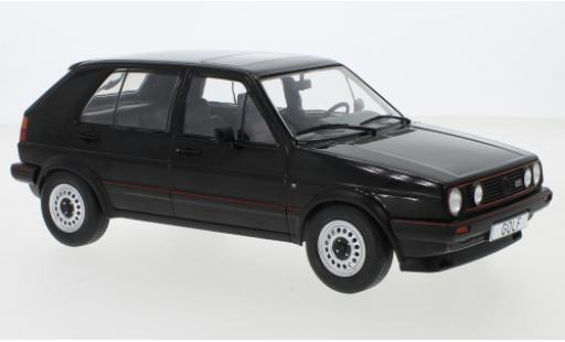 Volkswagen Golf 1/18 MCG II GTI negro 1984 5-trg. coche miniatura