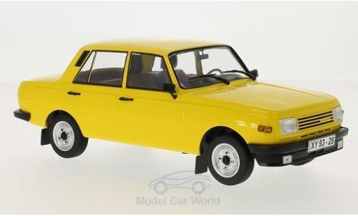 Wartburg 353 1/18 MCG jaune 1985 Türen und Hauben geschlossen miniature