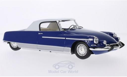 Citroen DS 1/18 Metal 18 19 Chapron Le Dandy metallise blue/white 1964 mit Beleuchtung diecast model cars