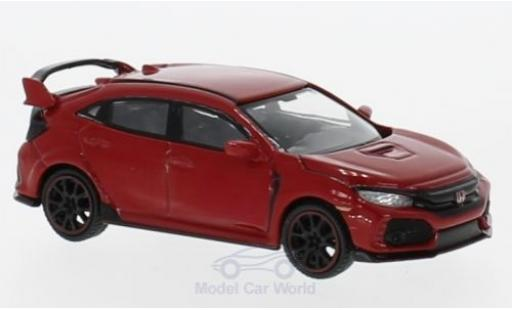 Honda Civic Type R 1/64 Mini GT Type R (FK8) red diecast