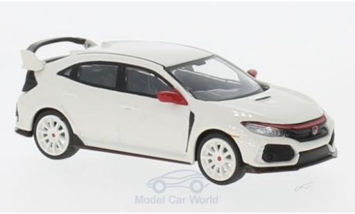 Honda Civic Type R 1/64 Mini GT (FK8) blanche RHD miniature