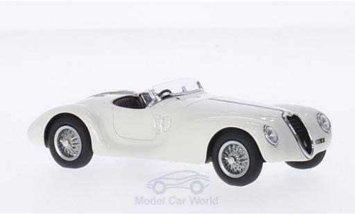 Alfa Romeo 6C 2500 1/43 Minichamps 2500 SS Corsa Spider blanche RHD 1939 First Class Collection miniature